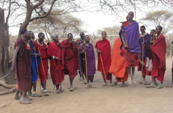 Maasai Mara tribe