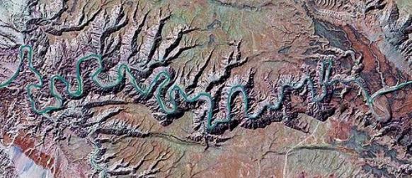 fish river satellite image